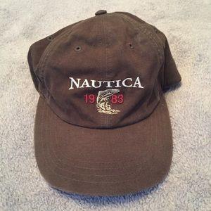 Vintage nautica strap hat
